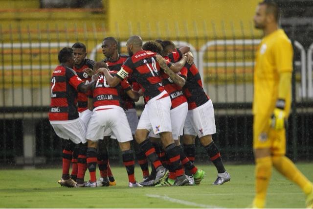 Em dia de Flalemanha, Flamengo joga bem e goleia Resende