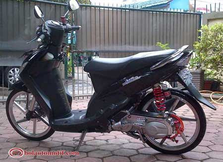 Modifikasi Motor Yamaha Mio 2010 Model Thailand Look