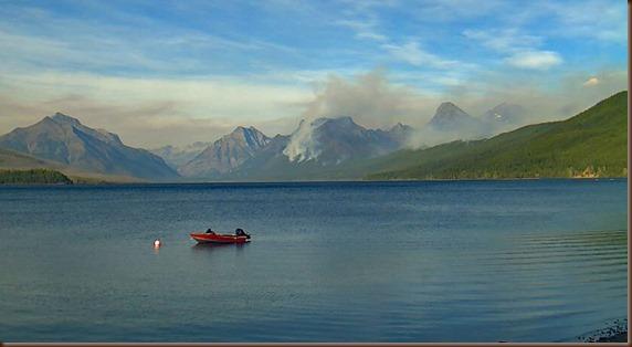 Glacier webcam - Lake McDonald - 10 Sep 2017b