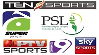PSL 2017 Live Telecast Channels
