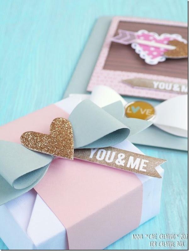 San Valentino - Card e scatolina coordinata con la Big Shot e Fustelle Sizzix