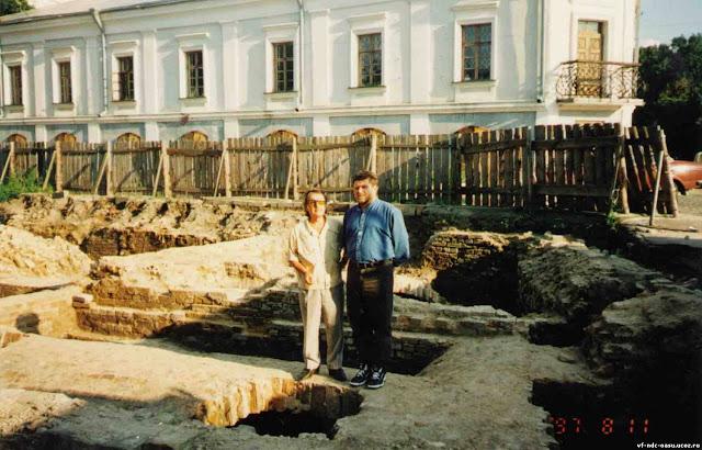 Розкопки 1997 р. Фото з архіву Кучинка М.