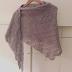 Grå Rheinlust shawl klar