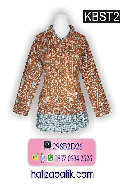 gambar baju batik wanita, pakaian wanita, model baju kantor