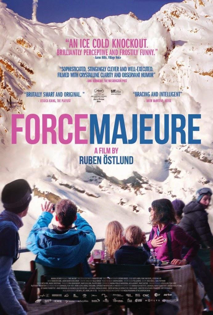 Ανωτέρα Βία (Force Majeure) Poster
