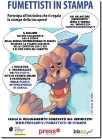 Fumettisti in stampa