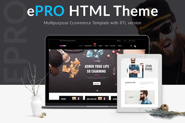 Template website free