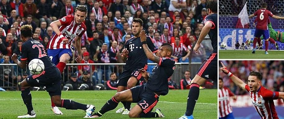 Once Atletico takes the lead it is so hard to break them down and Bayern  Munich found it out as they were hurled of the ball time and again by hard  working ...