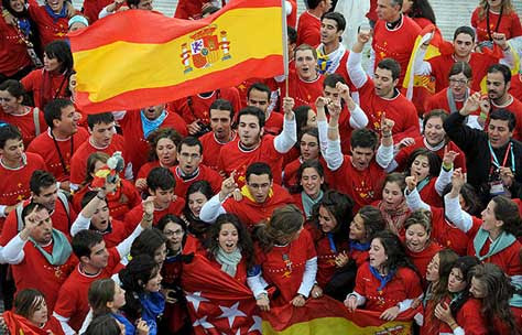 Jornada mundial de la juventud Madrid