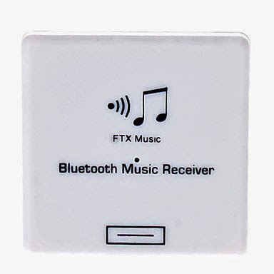 Processing time 2 days-Wireless Music Receiver for iPhone Sound Dock or Home Stereo (White)