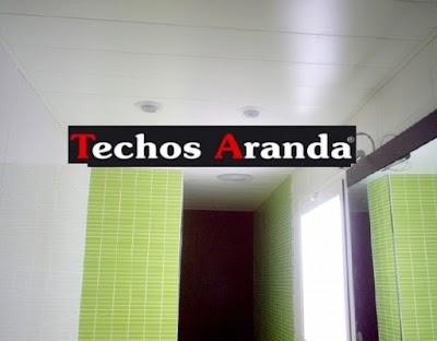 Precio de techos registrables Madrid