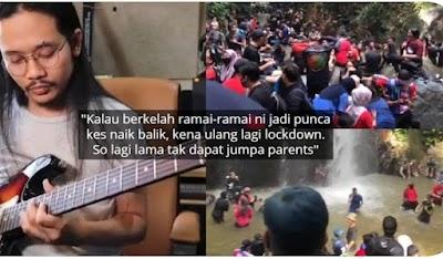 Dakwa Netizen Lebih Rindukan Sungai Dari Mak Ayah, Gitaris Hujan Mohon Maaf