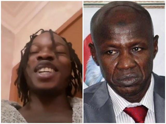 """Ole Ni Everybody"" Naira Marley Mocks EFCC Acting Chairman, Ibrahim Magu Over His DSS' Arrest"