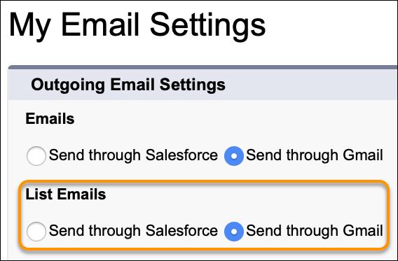 Send through Gmail