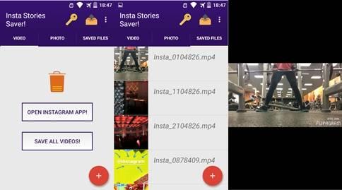 Cara donwload foto dan video instagram story eksklusif di Android 2 Cara Donwload Instagram Stories di Android