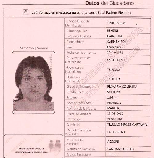 Carmen Caballero Benites