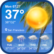 Daily weather forecast & weather report widget