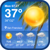 Tải Game Daily weather forecast & weather report widget