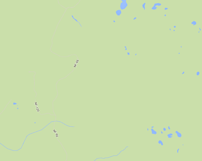 How Can I Increase The Contrast For Forest Service Roads Google