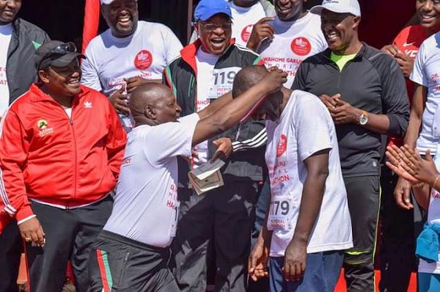 Ruto wins Gold in Marathon