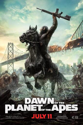 Ο Πλανήτης των Πιθήκων: Η Αυγή (Dawn of the Planet of the Apes) Poster