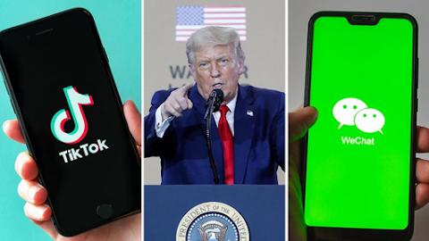 TikTok na WeChat: Marekani kupiga marufuku upakuaji ndani ya saa 48