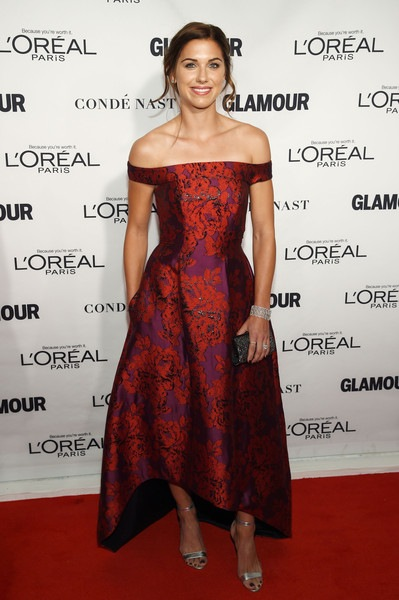 Alex Morgan attends 2015 Glamour Women Of The Year Awards