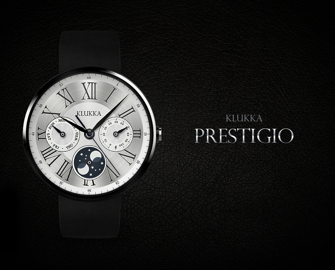 Prestigio watchface by Klukka- screenshot