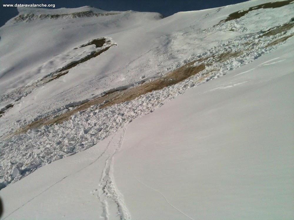Avalanche Vanoise, secteur Vallon des Encombres, Rocher de Cougne - Photo 1