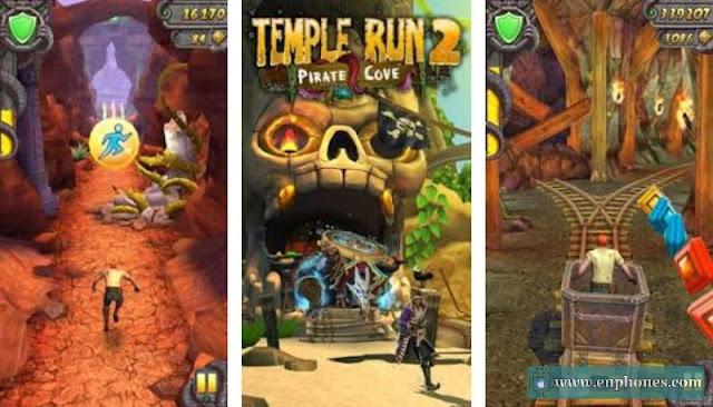 تحميل لعبة Temple Run 2 APK مهكرة آخر اصدار