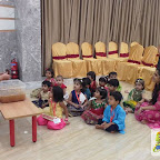Ganesh Chaturthi Celebrated by Playgroup Evening Section at Witty World, Chikoowadi (2018-19)