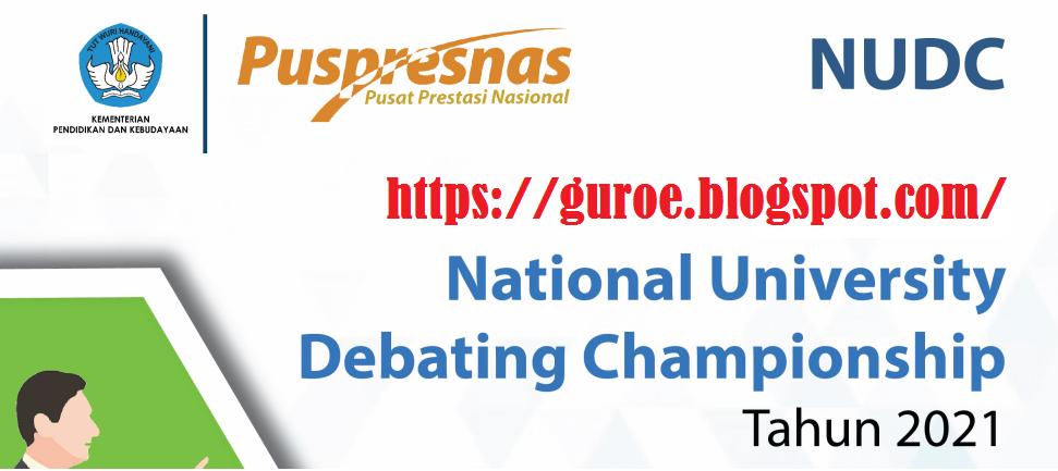 Juknis National University Debating Championship  (NUDC) Tahun 2021