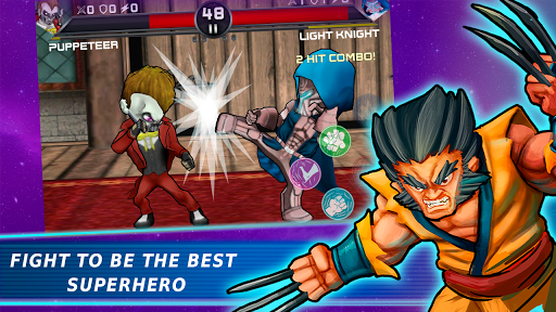 Superheroes Vs Villains 3 - Free Fighting Game  screenshots 16