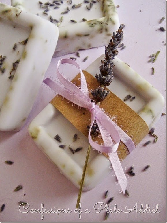 CONFESSIONS OF A PLATE ADDICT Lavender Goat's Milk Soap