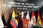 Diputado Ricardo Alfonsín, hijo del expresidente de Argentina, Raúl Alfonsín