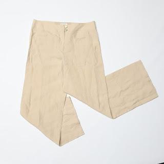 Chanel Linen Trousers