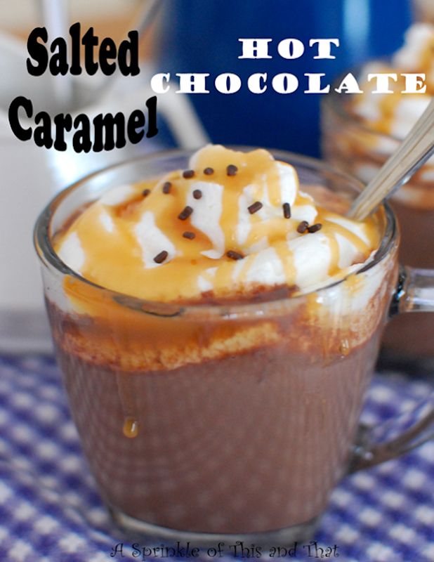 Salted Caramel Hot Chocolate Poster