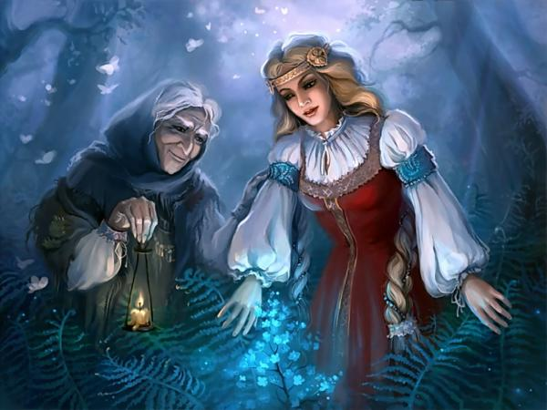 Old And Young Witches, Wicca Girls