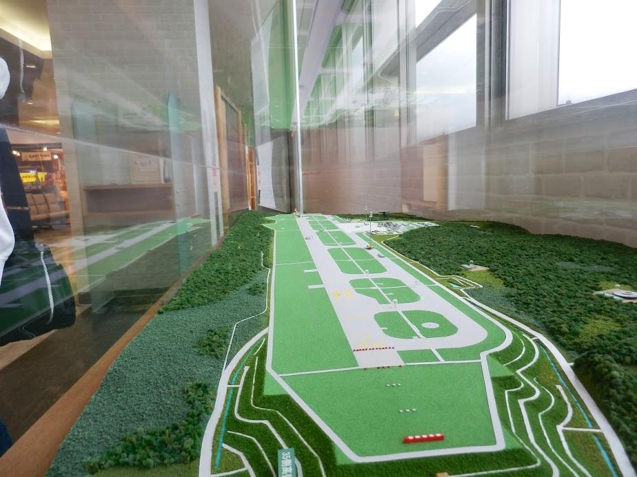 空港のスケールモデル