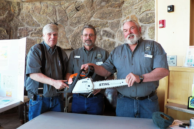 Stan, Steve & Ralph at the Fire Mitigation Table
