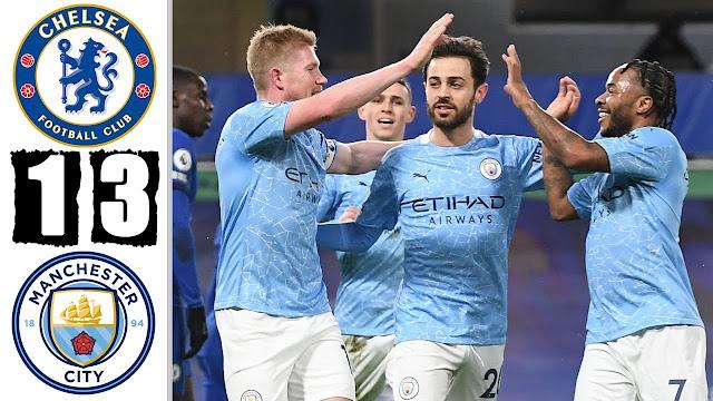 5 fakta menarik mengenai kekalahan memalukan Chelsea kepada Manchester City.