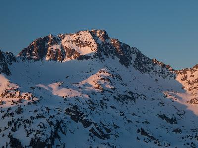 Pic del Portarró, cara nord (foto del dia següent)