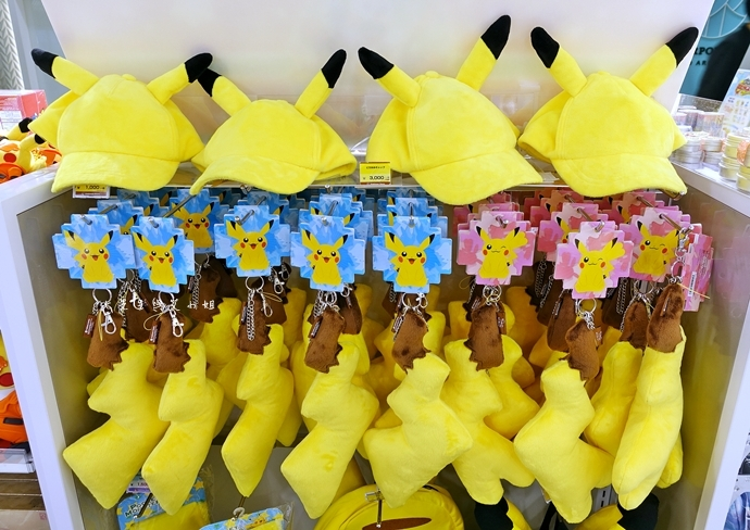 9 成田機場 寶可夢 神奇寶貝 皮卡丘 口袋怪獸 專賣店 東京旅遊 東京自由行 日本自由行