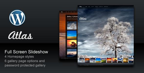 Atlas For Photography WordPress Theme