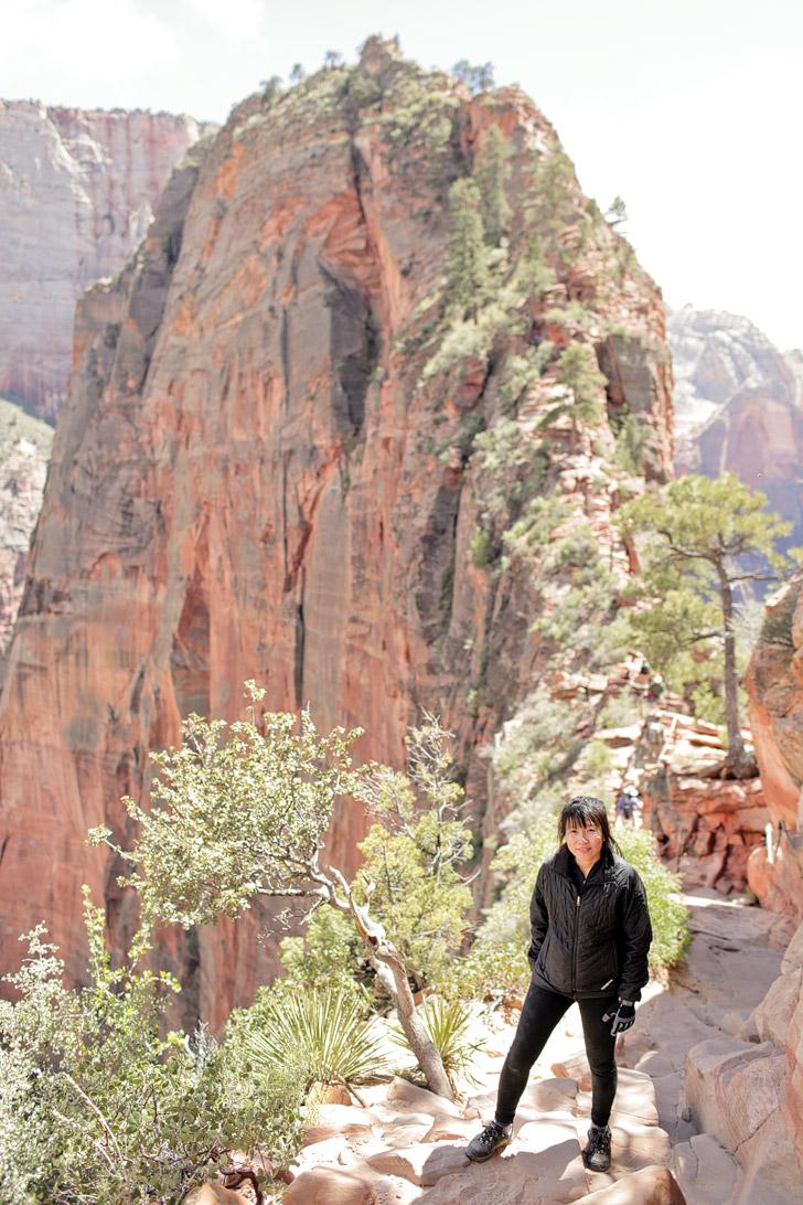 Angels Landing Hike Zion National Park.