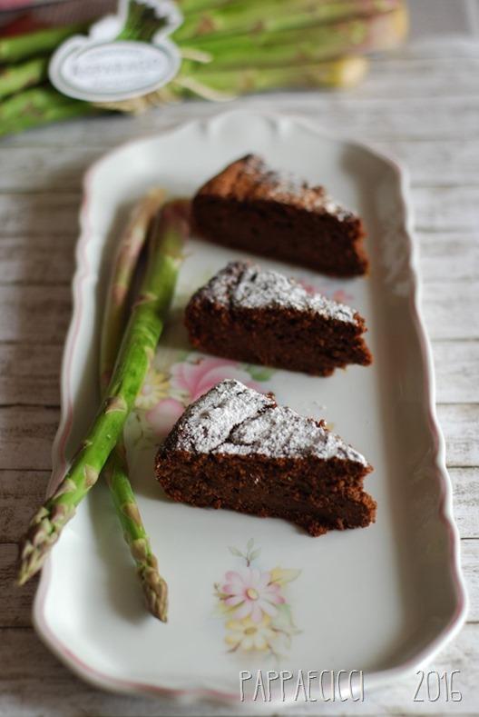torta asparagi fette