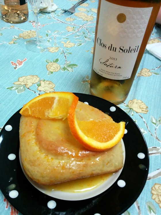 Clos du Soleil 2013 Saturn with Zesty Citrus Buns