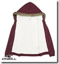O'Neill Superfleece Hoodie to show the sherpa lining