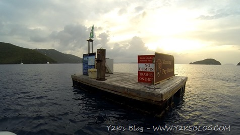Mooring Pay Station - St- John - USVI