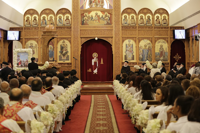 His Holiness Pope Tawadros II visit to St. Mark LA - _09A9000.JPG